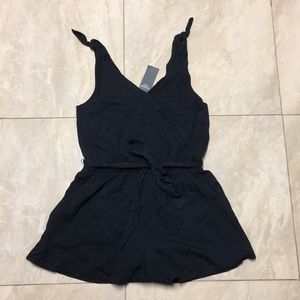 Abercrombie and Fitch wrap bow romper